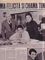 (pagine-pages)TONY DALLARA  Gente1960/10. - Libri, Riviste, Fumetti