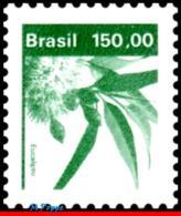 Ref. BR-1937 BRAZIL 1984 FLOWERS, PLANTS, ECONOMIC RESOURCES,, EUCALYPTUS, TREE, MNH 1V Sc# 1937 - Arbres