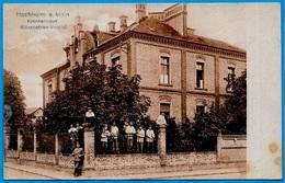 CPA AK Allemagne Hesse HOCHHEIM A. Main - Krankenhaus (Elisabethen-Verein) - Hochheim A. Main