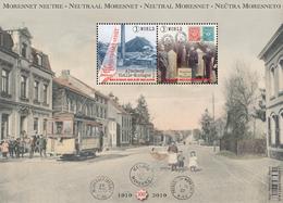 België Belgium 2019 - Neutraal Moresnet / Moresnet Neutre / Neutral-Moresnet / Neŭtra Moresneto - Stamp On Stamp - Neufs