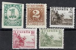 España 0914/918 ** Cifra Y Cid. 1940. Sin Pie De Imprenta - 1931-Hoy: 2ª República - ... Juan Carlos I