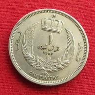 Libya 1 Piastre 1952 KM# 4 Libia Libie Libye - Libye