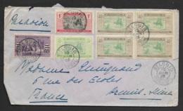 Enveloppe De St Louis Pour La France - Sénégal (1887-1944)