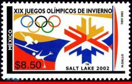 Ref. MX-2275 MEXICO 2002 SPORTS, WINTER OLYMPICS, SALT, LAKE CITY, MI# 2983, MNN 1V Sc# 2275 - Winter 2002: Salt Lake City