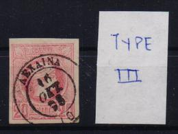 GREECE STAMPS-SMALL ERMIS HEADS 20lepta  ΛΕΧΑΙΝΑ-16/10/1898-USED(E3) - 1886-1901 Small Hermes Heads