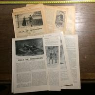 1901 DOCUMENT FILLE DE FRAUDEURS NOUVELLE A LE BRAZ TREGUIGNEC QUEMENER - Alte Papiere