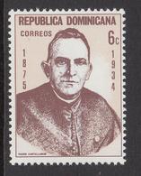 1975 Dominican Republic Castellanos Complete Set Of 1 MNH - Dominicaine (République)