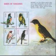Tanzania- Birds Of Tanzania (MS) - Tanzania (1964-...)