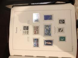 Album De Timbres Francais De 1971 à 1989 - Stamps
