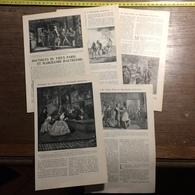 1901 DOCUMENT BOUTIQUES DU VIEUX PARIS ET MARCHANDS D AUTREFOIS CHAPELIER PERRUQUES ETC... - Vieux Papiers