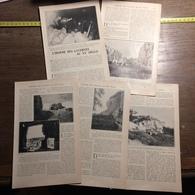 1901 DOCUMENT L HOMME DES CAVERNES AU XX ° 20° SIECLE A BOURRE - Vieux Papiers