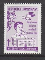 1976 Dominican Republic  Health Nutrition Education  Complete Set Of 1 MNH - Dominicaine (République)