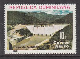 1976 Dominican Republic  Dam Engineering  Complete Set Of 1 MNH - Dominicaine (République)