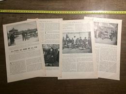 1901 DOCUMENT LA PAIX AU SOIR DE LA VIE PROTECTION DE LA VIEILLESSE BRY SUR MARNE ISSY NANTERRE - Vieux Papiers