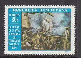 1977 Dominican Republic  Navy Ships Military Complete Set Of 1 MNH - Dominicaine (République)