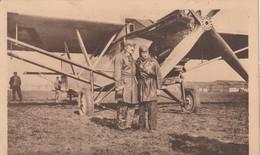 Rare Cpa Avion De Raid Farman LALOUETTE ET REGINENSI - Aviateurs