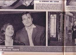 (pagine-pages)ANNA MARIA FERRERO E JEAN SOREL  Visto1960/48. - Libri, Riviste, Fumetti