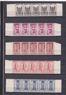FRANCE NEUF XX Sans Charnière N° 663/667 CATHEDRALES Au Profit De L'entraide Française - REF 24-24 - Stamps