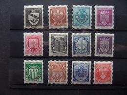 Au Profit Du Secours National. Armoiries De Villes (I) - Unused Stamps