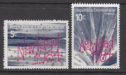 1984 Dominican Republic  Christmas Noel Navidad  Complete Set Of 2 MNH - Dominicaine (République)