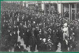 ! - Belgique - CP - Funérailles Du Roi Léopold II - 22/12/1909 - Les Délégations étrangères - Funérailles