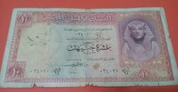 EGYPT - 10 Pounds - 1958 -- P. 32 - Egypte