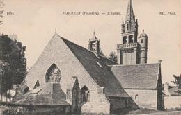 Rare Cpa Ploujean L'église - France