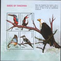 Tanzania - Birds Of Tanzania (MS) Kingfisher - Tanzania (1964-...)
