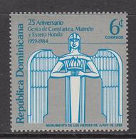 1984 Dominican Republic Revolution  Complete Set Of 1 MNH - Dominicaine (République)