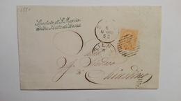 1880 - Documento Dallo Spedale Di S.Maria Della Scala Di Siena - 1878-00 Umberto I
