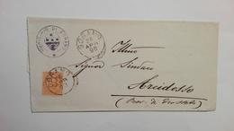 1896 - Documento Dal Municipio Di Sorano(SI) Al Sindaco Di Arcidosso(SI) - 1878-00 Umberto I