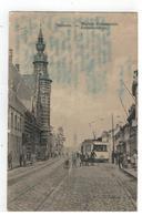 Merksem - MERXEM. Gemeentehuis. Maison Communale. (met Paarden Tram) - Antwerpen