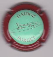 Capsule Champagne GAIDOZ_FORGET ( Nr ; Vert Contour Bordeaux ) {S04-19} - Champagne