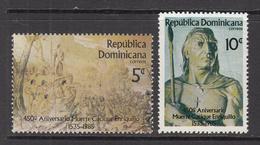 1985 Dominican Republic Revolutionary Leader Complete Set Of 2 MNH - Dominicaine (République)