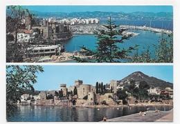 MANDELIEU LA NAPOULE - N° 2050 - LE CHATEAU ET LE PORT - CPSM GF VOYAGEE - France