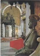 E1258 CITTA DEL VATICANO - INTERNO DELLA BASILICA DI S. PIETRO - Vatican
