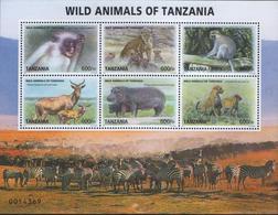 Tanzania-Wild Animals Of Tanzania - Tanzania (1964-...)