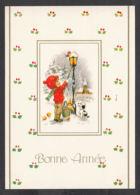 96976/ NOUVEL AN, Enfant Allumant Un Réverbère - Nouvel An