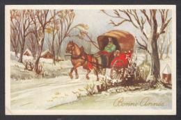 97994/ NOUVEL AN, Enfant, Fillette Avec Ses Cadeaux De Noël - Anno Nuovo