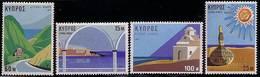 Spein 1971 Mi 365 - 368 Tourism Monastyr, Beach Sun Mountains MHN** W921 - Chypre (République)