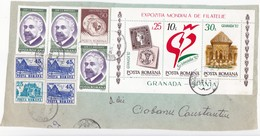 1992 , Roumanie To Moldova , Fragment Of  Used Cover - 1948-.... Républiques