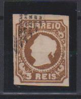 1853 Portugal - Queen Maria II - 5 R FORGERY - 1853 : D.Maria