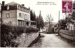 23  EVAUX LES BAINS  - Descente Des Bains , LES HOTELS - Evaux Les Bains