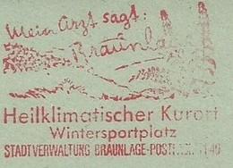EMA METER FREISTEMPEL GERMANY BRAUNLAGE WINTER SPORT - Holidays & Tourism