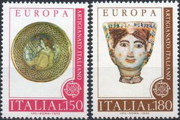 REPUBBLICA 1976 - ARTIGIANATO ITALIANO - SERIE COMPLETA NUOVA MNH** - 6. 1946-.. Repubblica
