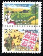 New Zealand Wine Post 1990-2005 Anniversary Cross-back Pair. - Unclassified