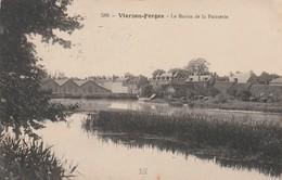 Rare Cpa Vierzon-Forges Le Bassin De La Painterie - Vierzon
