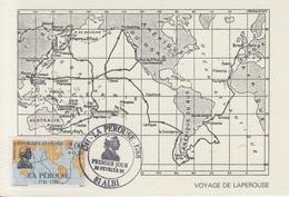 Carte Maximum  1er  Jour    FRANCE     LA  PEROUSE      ALBI    1981 - Cartes-Maximum