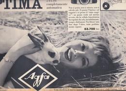 (pagine-pages)PUBBLICITA' AGFA  Successo1960/06. - Libri, Riviste, Fumetti