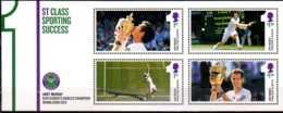 2013 Great Britain / UK -Andy Murrey Win At Wimbeldon - MS Paper MNH** MI Bl. 83 Tennis, Great Pride Of Britain - 1952-.... (Elizabeth II)